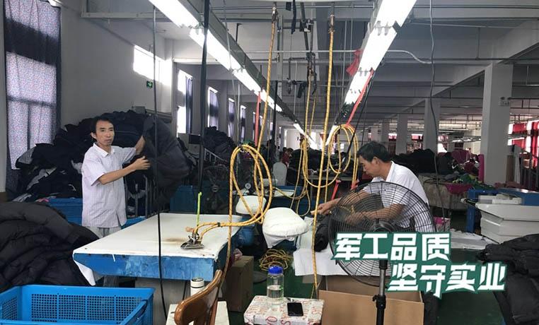 羽绒服生产加工配套蒸汽发生器熨烫
