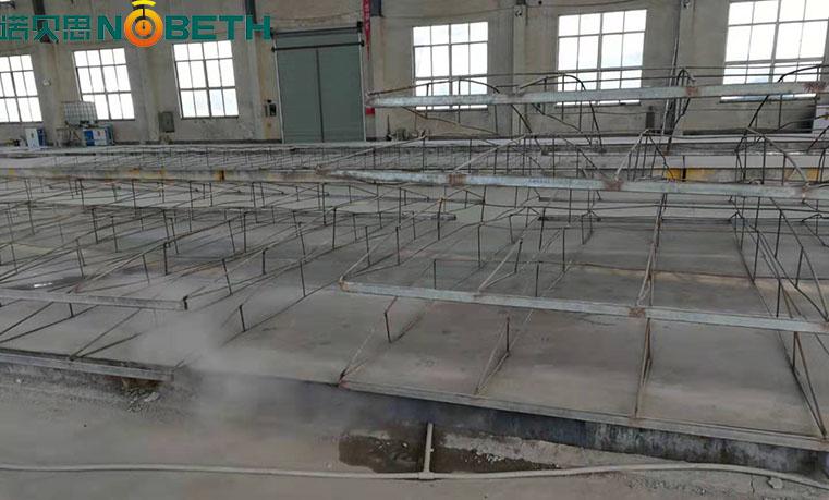 冬季混凝土养护如何使用广东中山48kw电加热蒸汽发生器养护箱梁